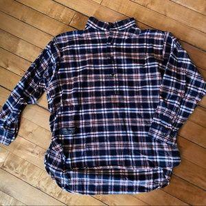 Vermont Flannel Henley Shirt